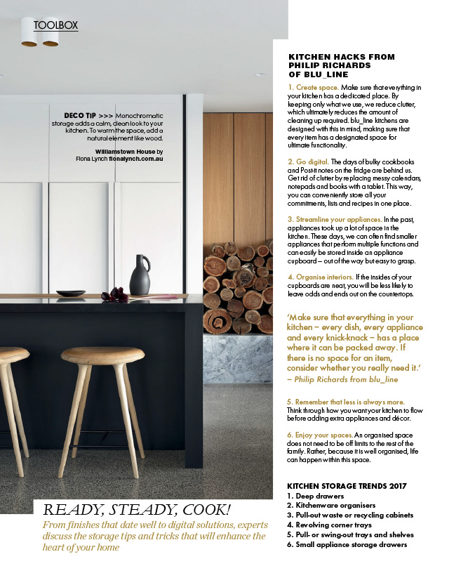 Williamstown House Featured In Elle Decoration South Africa September 2017