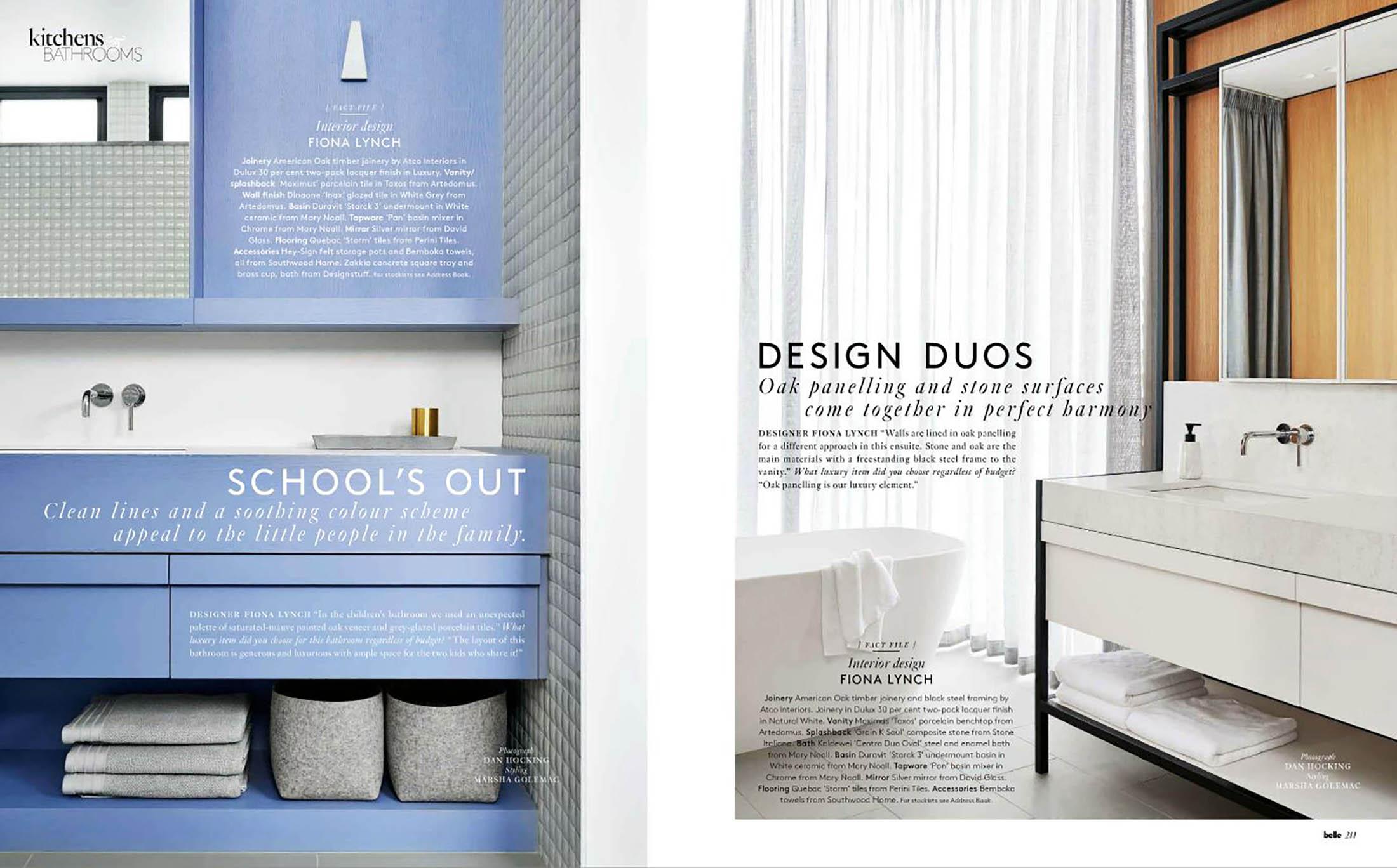 Belle Magazine April 2016_Kitchen & Bathroom 03 | Fiona Lynch ...