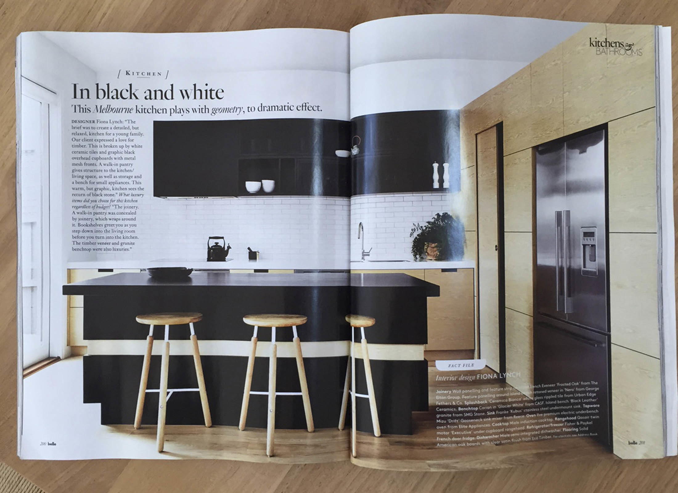 Belle Magazine March 2015 Features Peate Street House